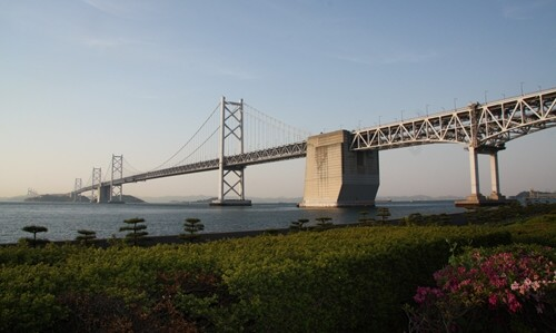 2014.5.7 瀬戸大橋と夕陽 (1).JPG
