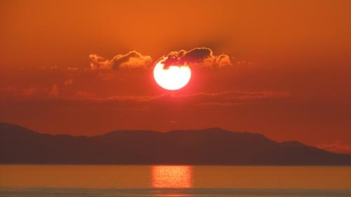 2019.6.11 下灘の夕陽 11.JPG