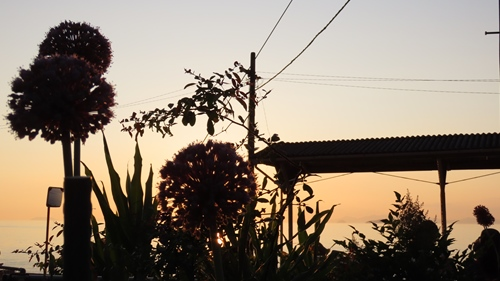 2019.6.11 下灘の夕陽 6.JPG