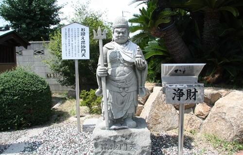 香西寺 お迎え毘沙門天.JPG